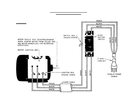 single phase capacitor motor wiring diagram wiring diagram