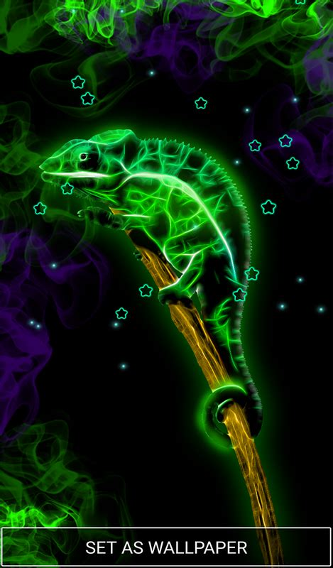 neon animals wallpaper moving backgrounds  android