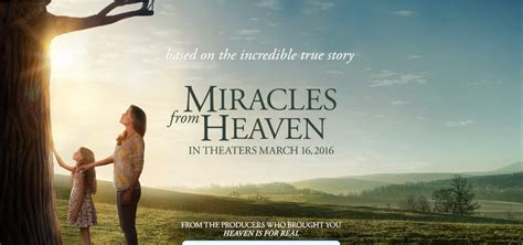 The Miracle From Heaven Review Miracles From Heaven One Fan