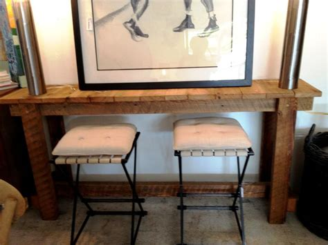 Bar Height Console Table With Stools by Bar Height Console Table And Stools Home Decor Inspirations