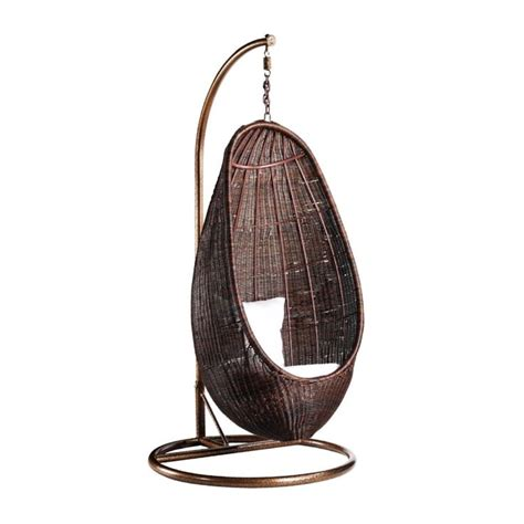 rattan hanging chair rattan hanging chair pod with stand