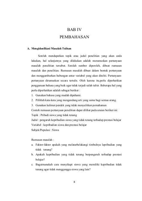 Makalah Contoh Motivation Letter Bahasa Indonesia contoh karya ilmiah dengan metode wawancara contoh 43