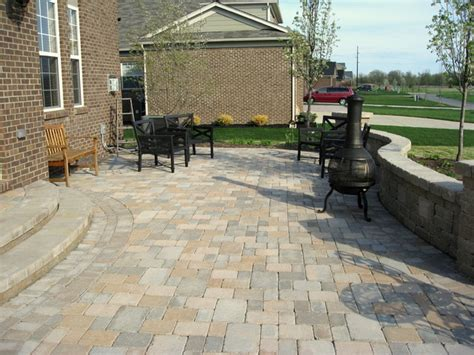 Raised Paver Patio Cost Raised Patios Traditional Patio Detroit By Apex Landscape And Brick Services Llc
