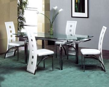 Metal Dining Table W Glass Top Ol Dt17 Metal Dining Set W Glass Top Ol Dt07s