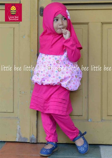 Princes Polka Syari by Gambar Baju Pink Boutique Www Minimalace Boutique
