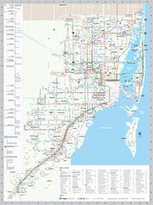 Maps Miami by Miami Transit Routes And Map Bing Images