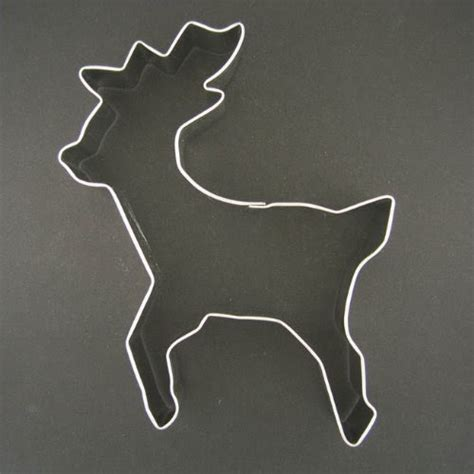 Stencils Templates Discount Large Rudolph Reindeer Metal Cookie Cutter For Holiday Baking Cookie Cutter Templates
