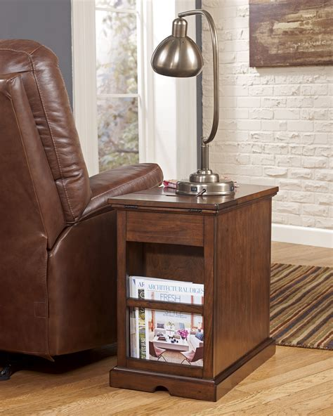 Ideas For Chairside Tables Design Buy Power Chairside End Tables By Signature Design From Www Mmfurniture Sku T127 565