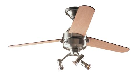 ceiling fan drop ceiling hunter carera ceiling fan in brushed nickel with light kit