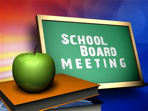 Education Board board meetings board of education