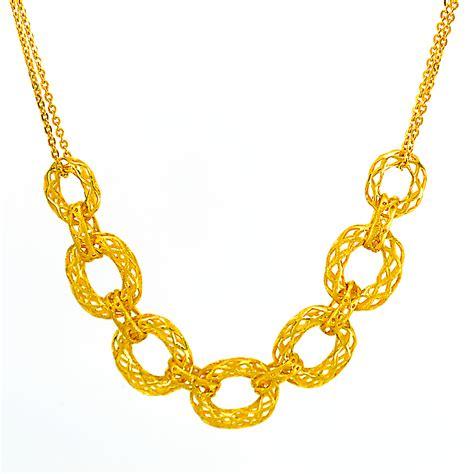 Kalung Emas Kuning 8 kalung emas murni 24k siola