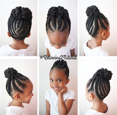 Hairstyles For Hair Black Children by 1000 Ideas About Hairstyles On