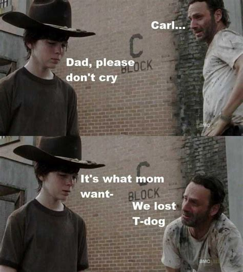 Walking Dead Meme Rick Crying - cassie carnage s house of horror return of the top 13