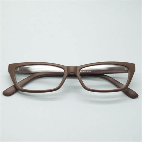 eco reading glasses wood effect contemporary low rise