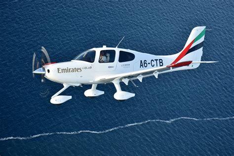emirates flight training academy emirates flight training academy receives first aircraft