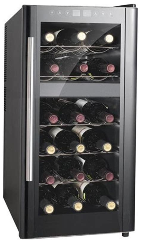Wine Rack Cooler by Store Wine In A Spt Dual Zone Thermoelectric Wine Cooler