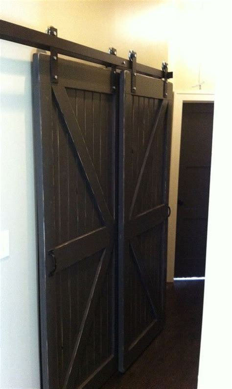 Sliding Bypass Closet Doors Sliding Barn Door Hardware Barn Door Hardware And Sliding Barn Doors On Pinterest