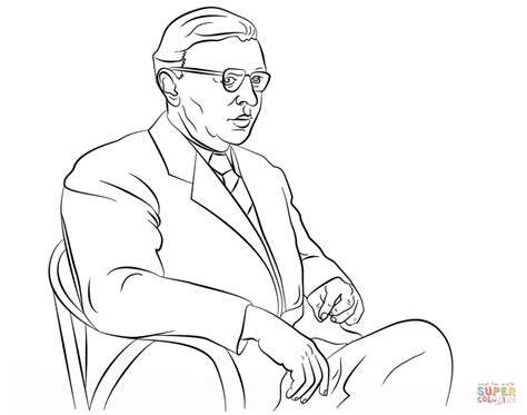 philosophy coloring book review jean paul sartre coloring page free printable coloring pages