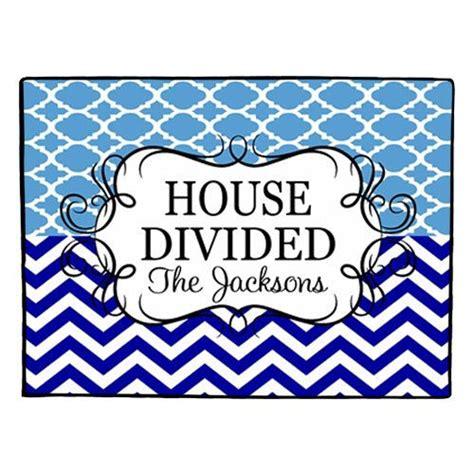 House Divided Doormat house divided doormat personalized door mat collegiate rug