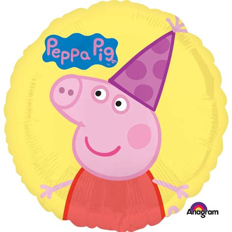 Peppa pig 18 happy birthday balloon themed balloons and inidual party supplies