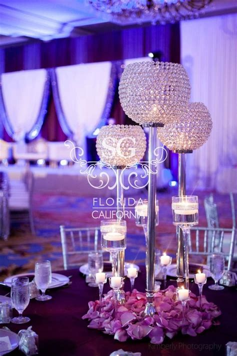 wedding decoration ideas with crystals 994 best images about centerpieces bring on the bling