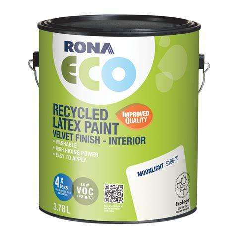 recycled interior paint moonlight rona