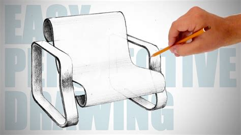 how to draw furniture sofa easy perspective drawing 23 youtube how to draw a modern chair easy perspective drawing 14