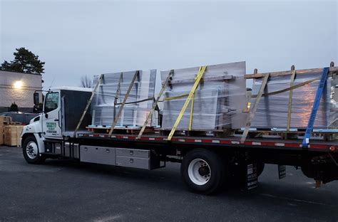 air ride flatbed trucking center moriches mcguire trucking service