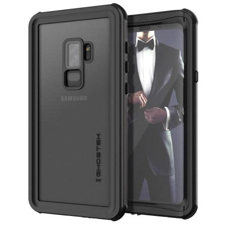 ghostek nautical samsung galaxy s9 plus waterproof black