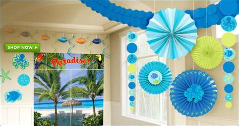 summer theme decorations summer decorations feste compleanni