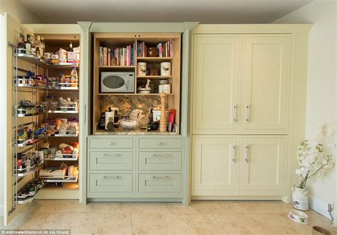 houzz uk reports  huge rise  pantry porn daily mail