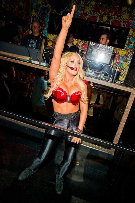 dancing   stars lacey schwimmer lights  las vegas hard rock cafe pictures pure
