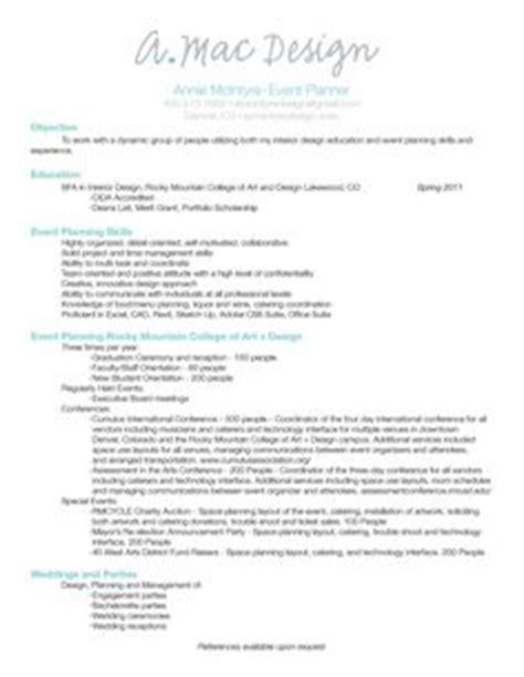 Wedding Event Organizer Description by Event Planner Resume Exle Professional Resumes