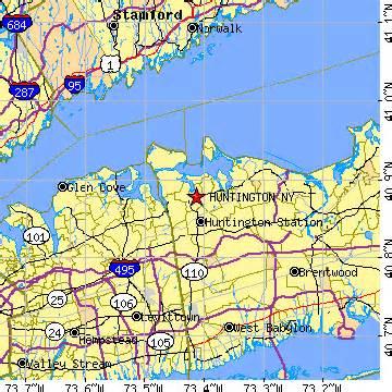 Map Of Huntington New York by Huntington New York Ny Population Data Races