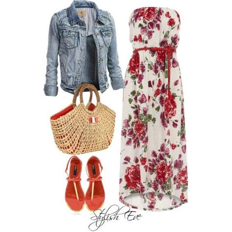 Floral Combine Dress How To Combine Maxi Dresses With Jackets Or Blazers