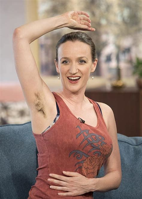 hair armpit olderwomen pictures woman who hasn t shaved for five years shocks viewers on