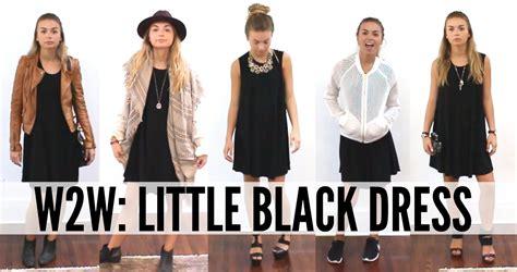 7 Ways To Dress Up Your by Ways To Wear The Black Dress