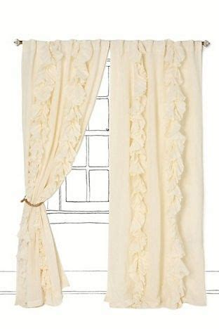 shabby chic curtains white from hobby lobby buy fabric and have made cortinas casa