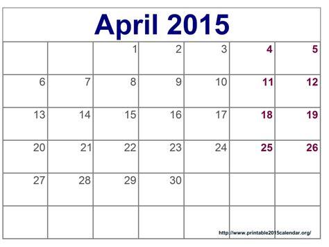 blank calendar template pinterest april 2015 schedule 2015 printable calendar template
