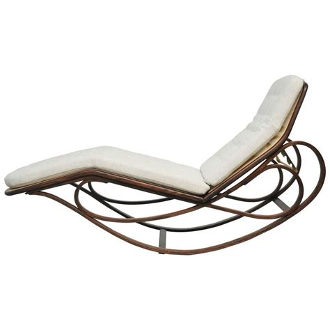 rocking chaise lounge dunbar rocking chaise lounge by edward wormley for sale at