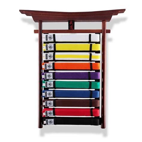 Taekwondo Belt Display Rack by Bytomic Budo Belt Display Rack Martial Arts Jiu Jitsu