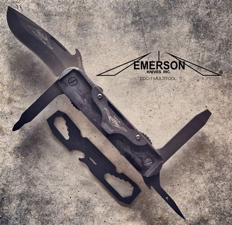 emerson edc 1 emerson multitasker edc 1 multitool recoil