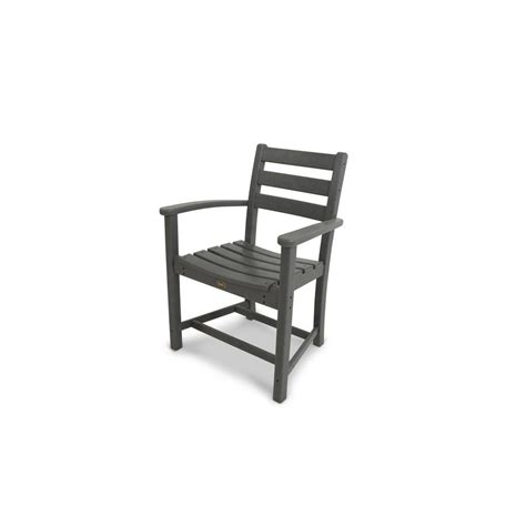 trex outdoor furniture reviews trex outdoor furniture monterey bay stepping patio dining arm chair txd200ss the home depot