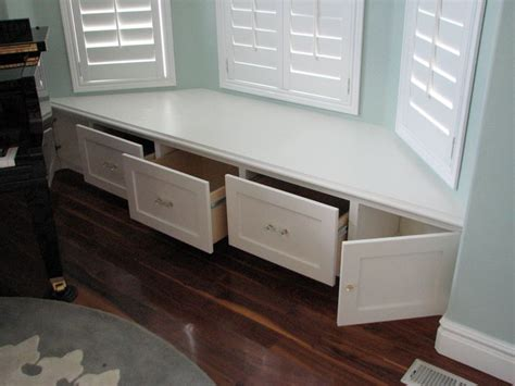 Window Seats With Drawers by 25 Best Ideas About Window Seat Storage On