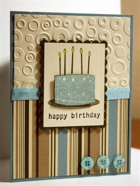 masculine card ideas masculine birthday cake by rbright cards and paper