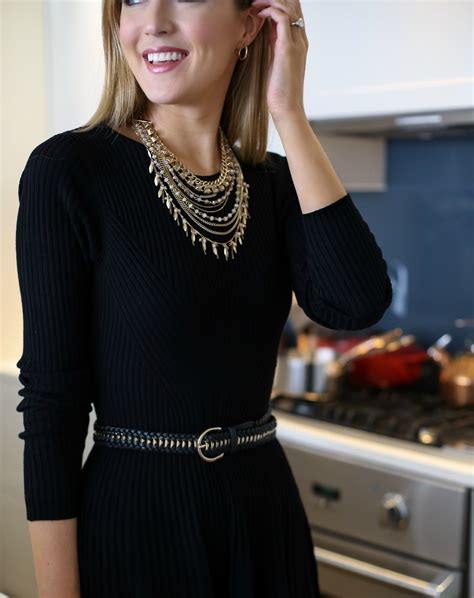 how to dress up a simple lbd for the holidays memorandum