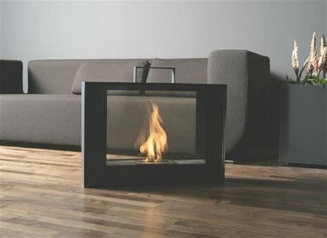 Portable Ventless Fireplace by Bio Ethanol Place Modern Home Decor