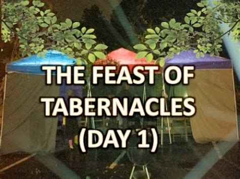The Feast Youtube | the feast of tabernacles day 1 youtube