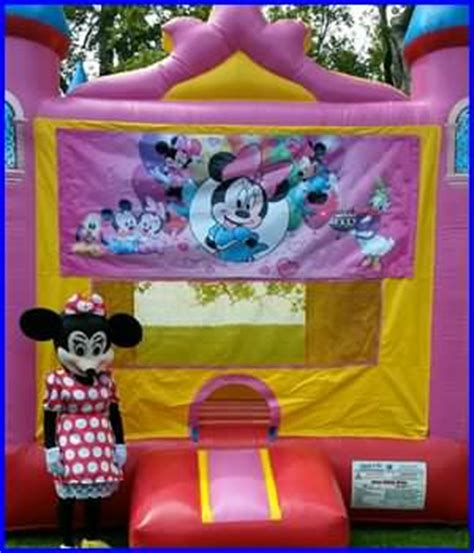 Minnie Mouse Bounce House by New Orleans Bounce House Rentals