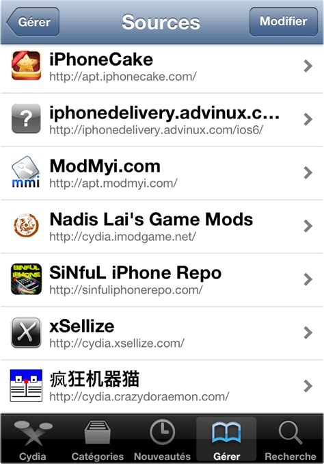 game mod iphone repo imodgame installation et configuration iphone ipad